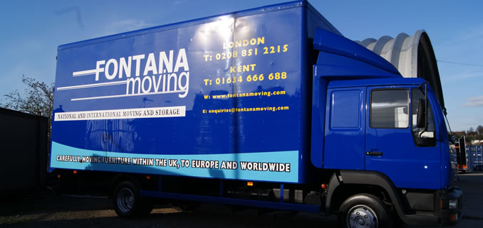 Fontana Moving Truck